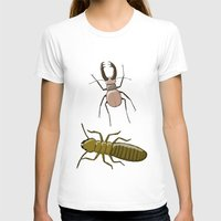 insects T-shirts featuring two insects doing nothing by Rob Million