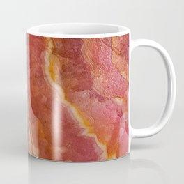 Salmon Striped Quartz Coffee Mug