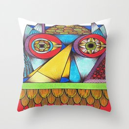 I Can See Your House From Here Throw Pillow