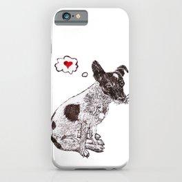 JRT Love iPhone Case