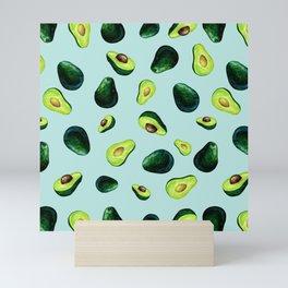 Avocado Pattern Mini Art Print