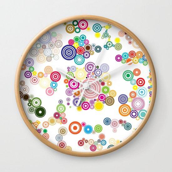 Springs Wall Clock