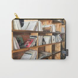 Albums On The Shelf Carry-All Pouch