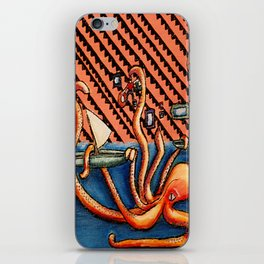 Shipwrecked and Climbing iPhone Skin