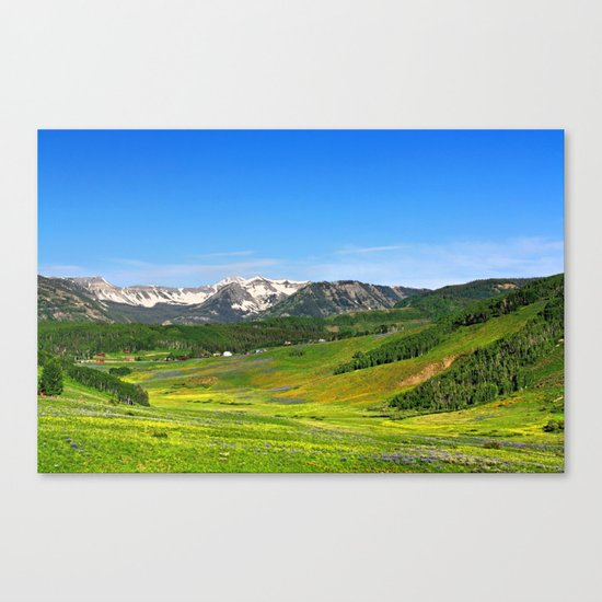 Crested Butte Canvas Print