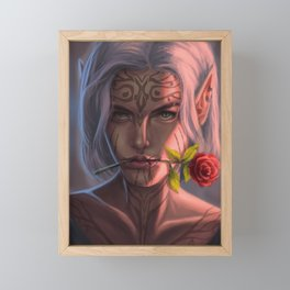 Elf Princess Framed Mini Art Print