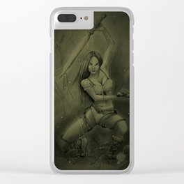 """MISTIK"" Clear iPhone Case"