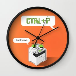 Designer's Best Friend Wall Clock