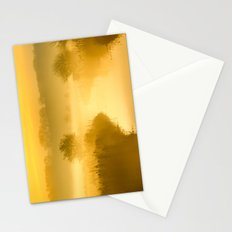 Mist of Gold Stationery Cards