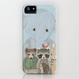 littlest woodland iPhone Case