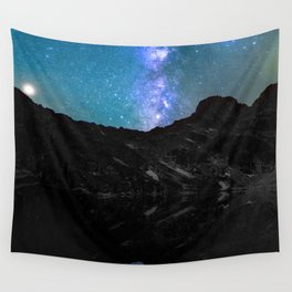 Milky Way Mountain Wall Tapestry