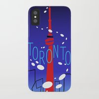 toronto iPhone & iPod Cases featuring Toronto by Maygen Kerrigan