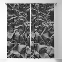 Crumpled Paper 04 Blackout Curtain
