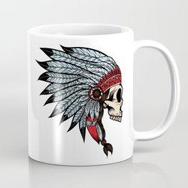 Indian skull Coffee Mug