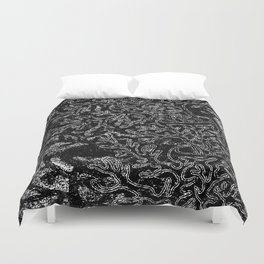 dark tree Duvet Cover
