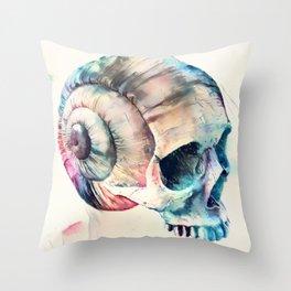 Skull Fantasies Throw Pillow