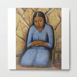 Alfredo Ramos Martínez (1872-1946) the little woman Metal Print
