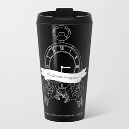 """Living is a problem because everything dies"" - part II - Biffy Clyro Travel Mug"