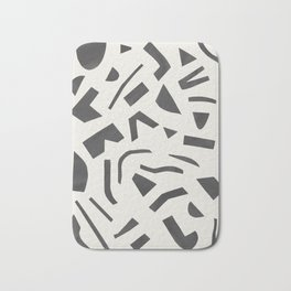 Cut Out - Black Bath Mat