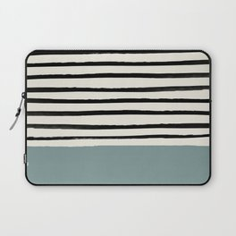 River Stone & Stripes Laptop Sleeve