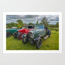 Classic Cars 1930 Art Print