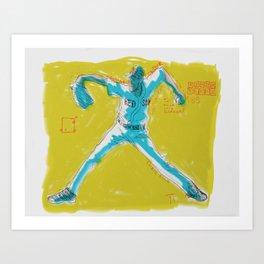 The World of Chris Sale Art Print
