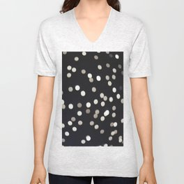 The stars at night are big and bright… Unisex V-Neck