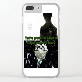 Fragile Heart - Yukio Okumura Clear iPhone Case