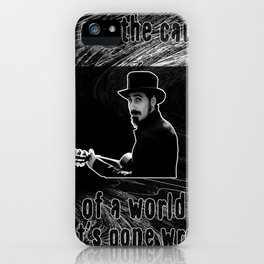 Sky is over iPhone Case