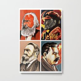 Ghosts of communism Metal Print