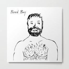 Beard Boy: Jamey Metal Print