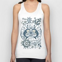 narwhal Tank Tops featuring Narwhal by AmKiLi