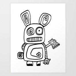 Wanna play? Art Print