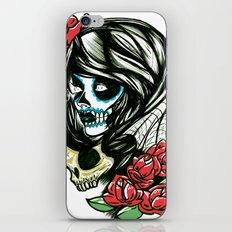 Sugar Skull Girl iPhone & iPod Skin