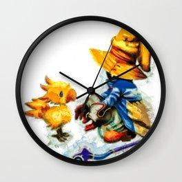 Vivi and the Chocobo Final Fantasy 9 Wall Clock
