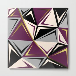 Geometric abstract1 Metal Print