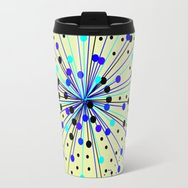 Colourful Abstract Background Travel Mug