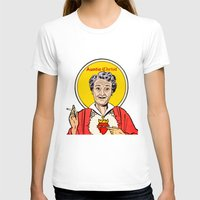 christ T-shirts featuring Auntie-Christ by MilkGhost