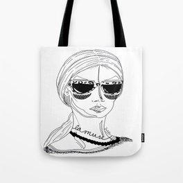 La muse Tote Bag