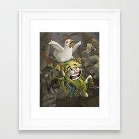 zelda Framed Art Prints featuring Zelda by Dave Armstrong