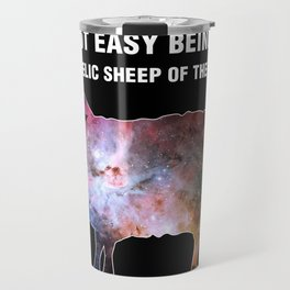 Psychedelic Sheep of the Family (4) Travel Mug