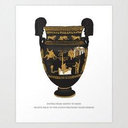 Celtus Panthera Tigris (Irish Government) Art Print
