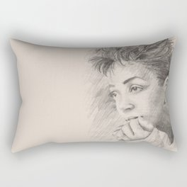 Anita Baker Rectangular Pillow