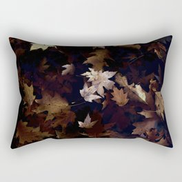 Natural Leaf Rectangular Pillow