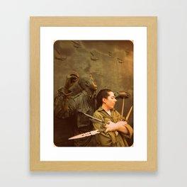 Defend Framed Art Print