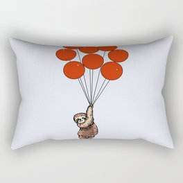 I Believe I Can Fly Sloth Rectangular Pillow