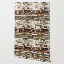 Egon Schiele - Stone on the Danube Wallpaper