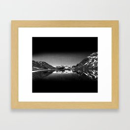Mountain View at Norvegian Framed Art Print