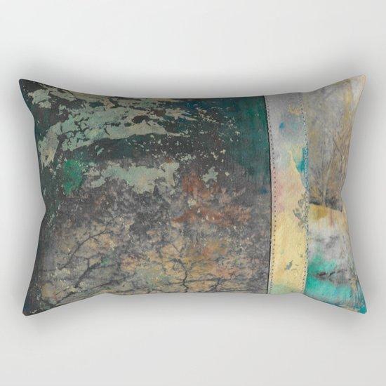 Across the Pond Rectangular Pillow