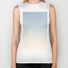 IVORY BONES - Minimal Plain Soft Mood Color Blend Prints Biker Tank